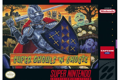 Super Ghouls 'n Ghosts (SNES / Super Nintendo) News ...