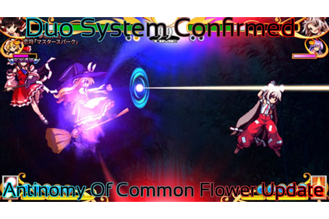 Touhou 15.5 - Antinomy of Common Flowers Small Update (Duo ...