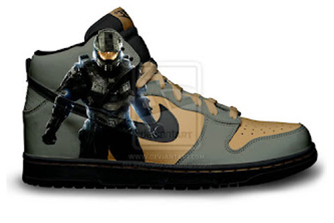 Nike Dunks Custom Design Sneakers : Video Game Nike SB ...