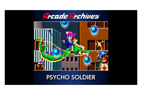 Arcade Archives PSYCHO SOLDIER Game | PS4 - PlayStation