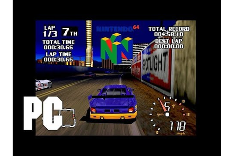 World Driver Championship N64 emu on PC PJ64 (Boss Game ...
