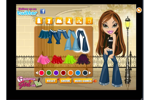 Chic Bratz game - Free Online Chic Bratz - Bratz Games For ...