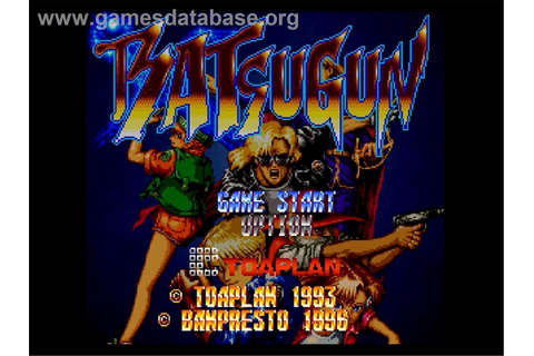 Batsugun - Sega Saturn - Games Database