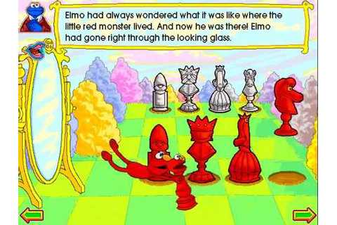 Elmo Through The Looking-Glass - YouTube