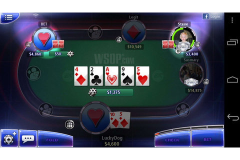World Series of Poker for Android - Download