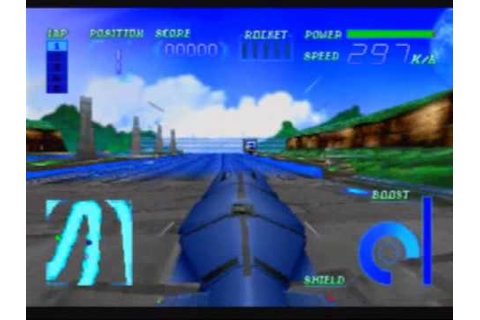 Cyber Speedway Game Sample - Sega Saturn - YouTube