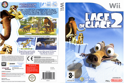L'Age de Glace 2 PC, DS, Wii, GBA, PS2, NGC, Xbox | 2006