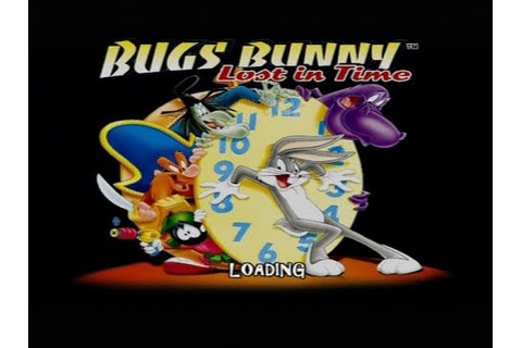 Gameplay Ps1 - Bugs Bunny : Voyage à Travers le Temps PAL ...