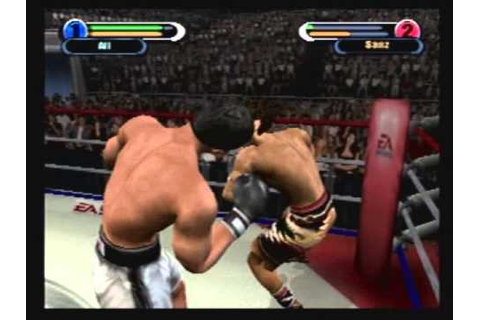 Knockout Kings 2002 ps2 - YouTube