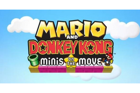 Mario and Donkey Kong: Minis on the Move Announced with ...