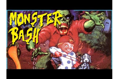 LGR - Monster Bash - DOS PC Game Review - YouTube