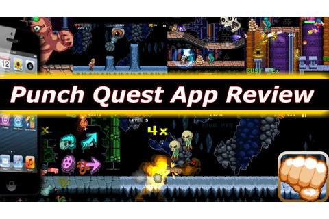 Punch Quest iPhone App Review - Free Games For The iPhone ...