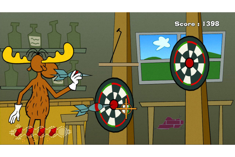 Rocky and Bullwinkle Screenshots - Video Game News, Videos ...