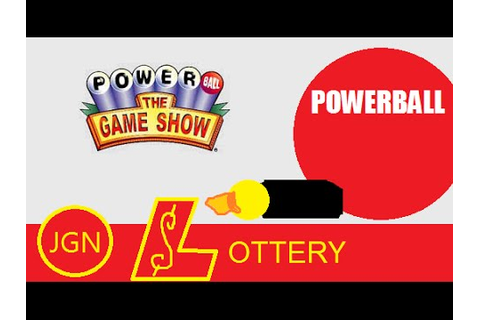 Powerball The Game Show - JGN Lottery - YouTube