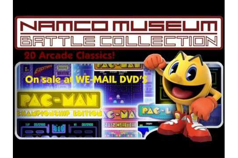 WE MAIL DVD'S Namco Museum Battle Collection [Game For The ...
