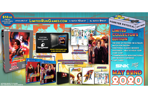 Limited Run #344: The King of Fighters '98 Ultimate Match ...