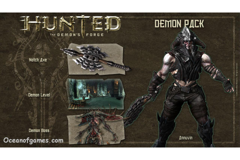 Hunted The demon's Forge Free Download - Ocean Of Games