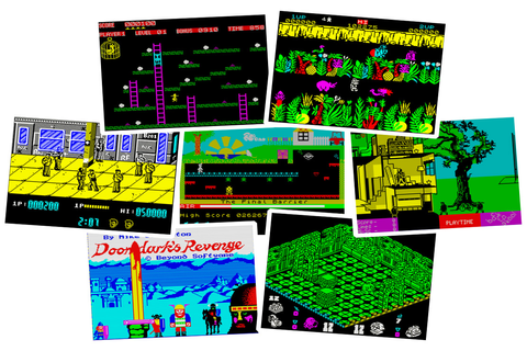 Play ZX Spectrum Games on Windows 10, 8 and Windows 7