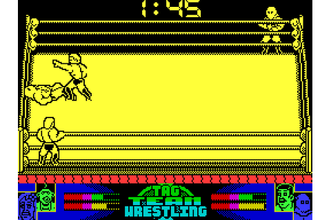 American Tag Team Wrestling (1992) ZX Spectrum game