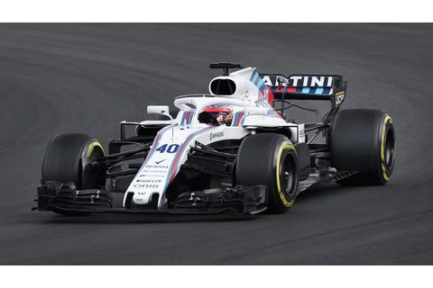 Robert Kubica Driving the Williams FW41 during the F1 2018 ...