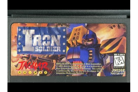 Classic Game Room - IRON SOLDIER review for Atari Jaguar ...