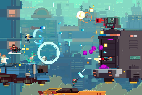 Super Time Force shooting for summer release, Below ...
