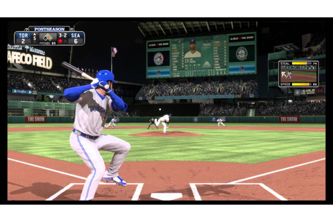 MLB 15 The Show Game Play Mammoth Homerun - YouTube
