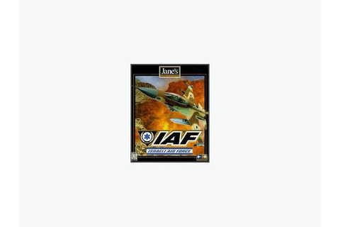JANES IAF PC Game Israel Air Force (in original box with ...