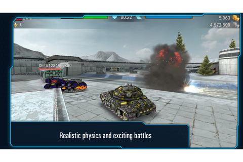 Iron Tanks: Online Battle - Android Apps on Google Play