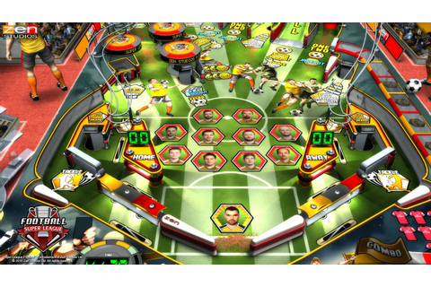 Review: Super League Football table for Zen Pinball 2 ...