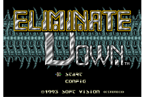 Download Eliminate Down (Genesis) - My Abandonware