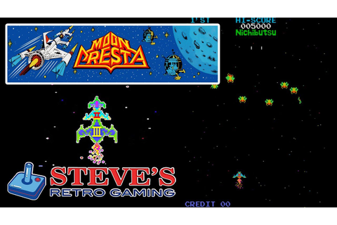 MOON CRESTA Arcade Game aka EAGLE by Nichibutsu in 1980 ...