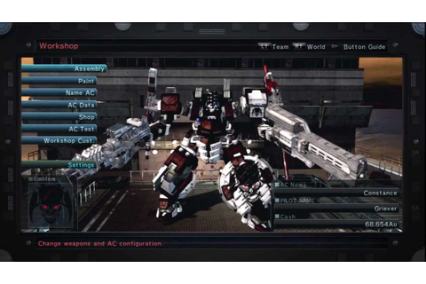 Armored Core V Review - YouTube