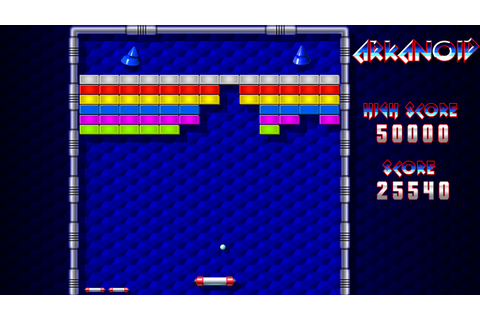 Arkanoid - Remake :) | AmigaBlogs
