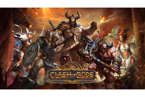 Clash of Gods Gameplay IOS / Android - YouTube