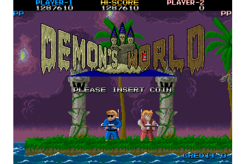 Demon's World | Top 80's Games