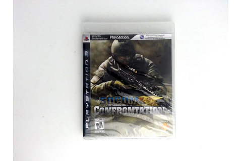 SOCOM Confrontation game for Playstation 3 (New) | The ...