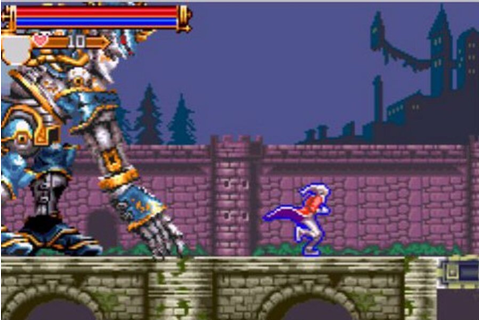 Castlevania: Harmony of Dissonance (GBA / Game Boy Advance ...