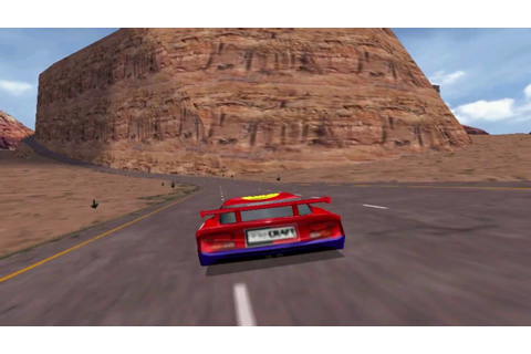Viper Racing (PC Game 1998) - A lap in Sunset Mesa - YouTube