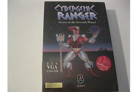 "Cybergenic Ranger new factory sealed PC game 5.25"" disks ..."