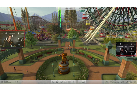 RollerCoaster Tycoon World Live Stream Replay - YouTube
