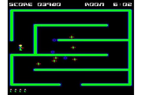 BBC Micro game Cybertron Mission - YouTube