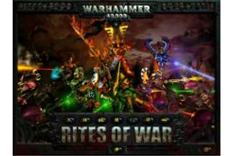 Warhammer 40000: Rites of War Download (1999 Strategy Game)