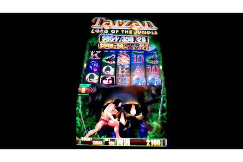 Tarzan Lord Of The Jungle Slot