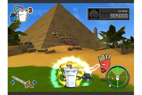 Aqua Teen Hunger Force - Zombie Ninja Pro-Am (Europe) ISO