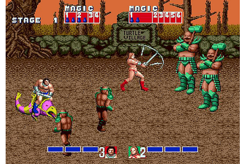 [Review] Have Golden Axe (Sega Arcade) and String Bikini ...