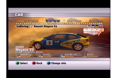 RALLISPORT CHALLENGE 2 XBOX Some cars in the game - YouTube