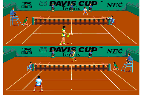 Davis Cup Tennis (1991) by Loriciel PCE game