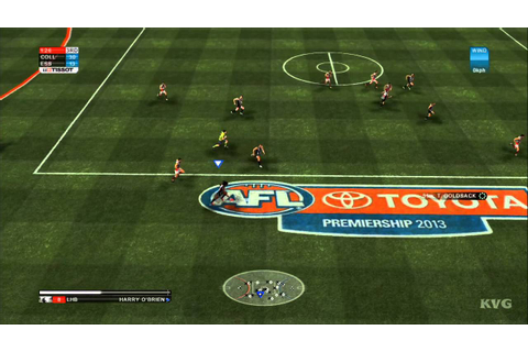 AFL Live 2 - Essendon vs. Collingwood Gameplay [HD] - YouTube