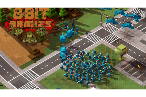 Welcome Back Commander - 8-Bit Armies Gameplay - YouTube